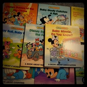 Vintage disney babies books lot of 11 books
